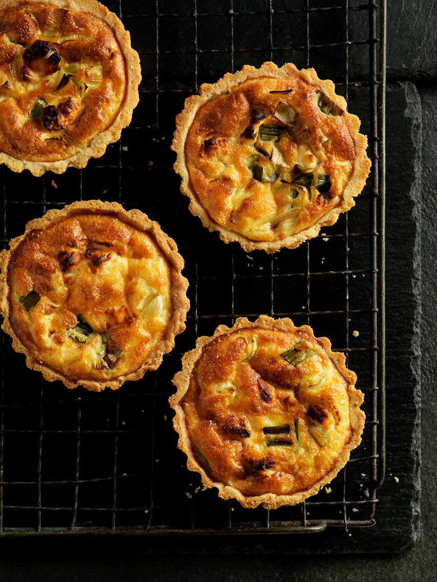 abergavenny_goats_cheese_and_leek_tartlets